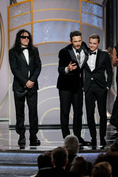 James Franco, Dave Franco, Tommy Wiseau