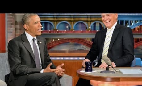 Barack Obama on The Late Show