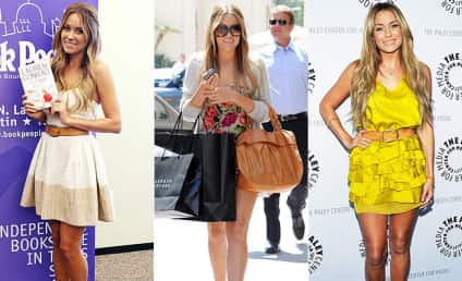 Celebrity Style Watch: Lauren Conrad's Sandals