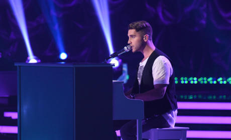 Nick Takes to the Piano