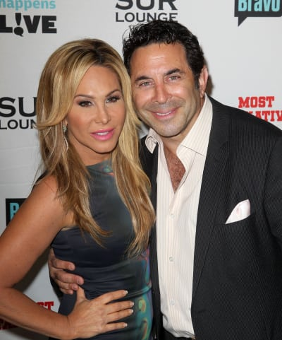 Adrienne Maloof, Paul Nassif Photo