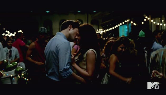 Edward and Bella in Breaking Dawn