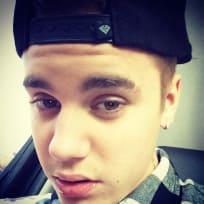 Extreme Justin Bieber Close Up