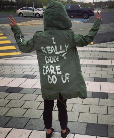I Really Don't Care, Do U? jacket