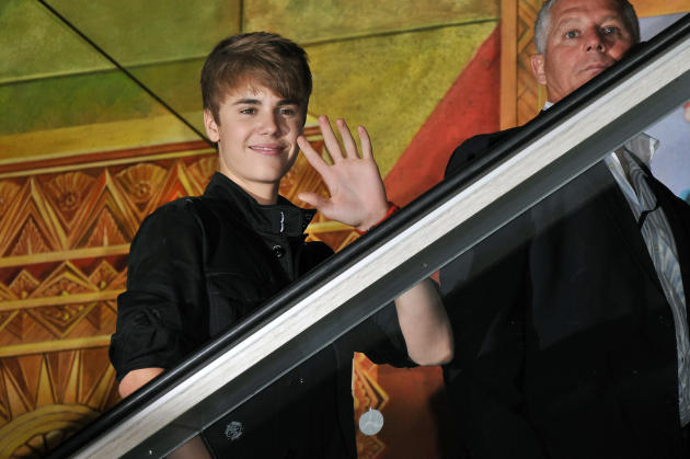 Greetings, Justin Bieber