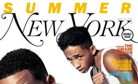 Will Smith and Jaden Smith Magazine Cover