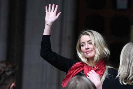 Amber Heard In Court