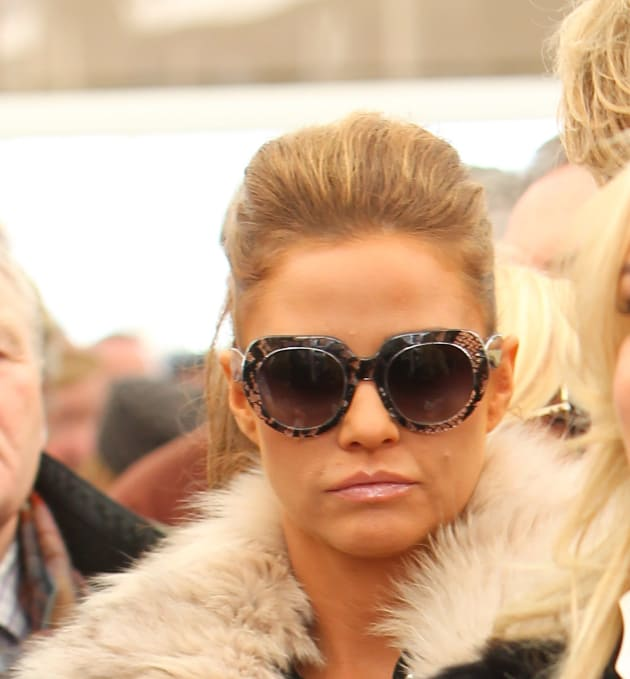 Katie Price with Glasses