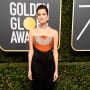 Allison Williams at the Globes
