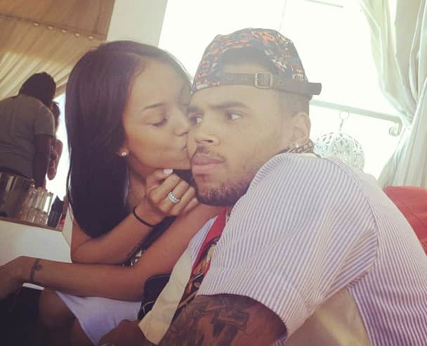 Karrueche, Chris Brown
