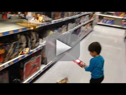 Action Movie Kid: Toy Lightsaber