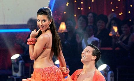 Kim Kardashian on DWTS