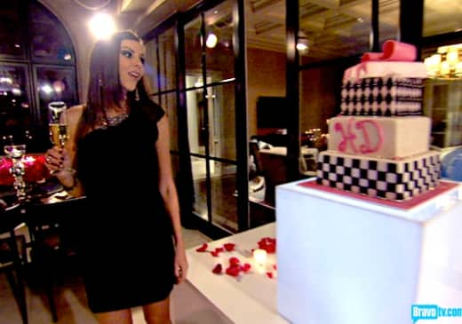 Heather Dubrow, Cake