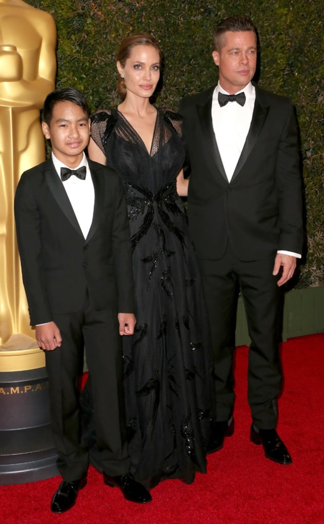 "Maddox Jolie-Pitt Testifies Against Brad, Seeks to Drop ""Pitt"" From Name - The Hollywood Gossip"