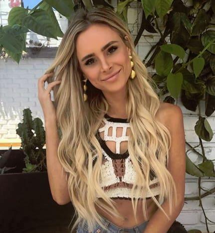 Amanda Stanton Flaunts Her Summer Hair