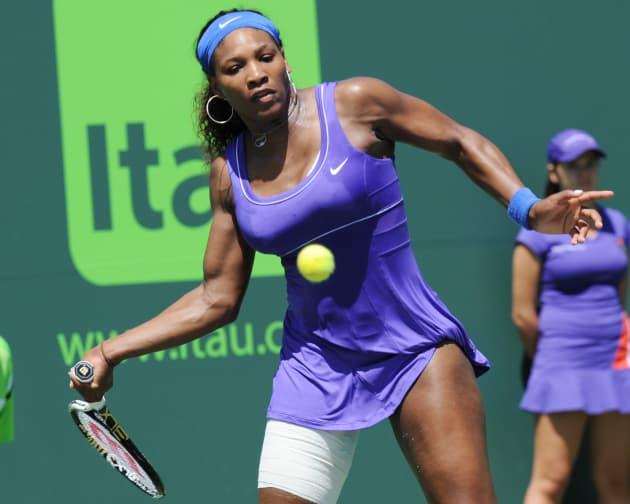 Serena Williams at Work