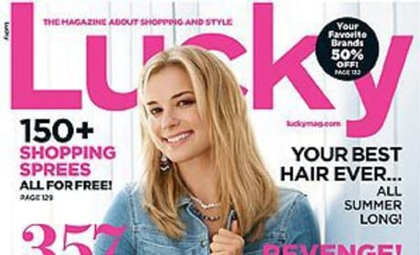 Emily VanCamp Lucky Cover