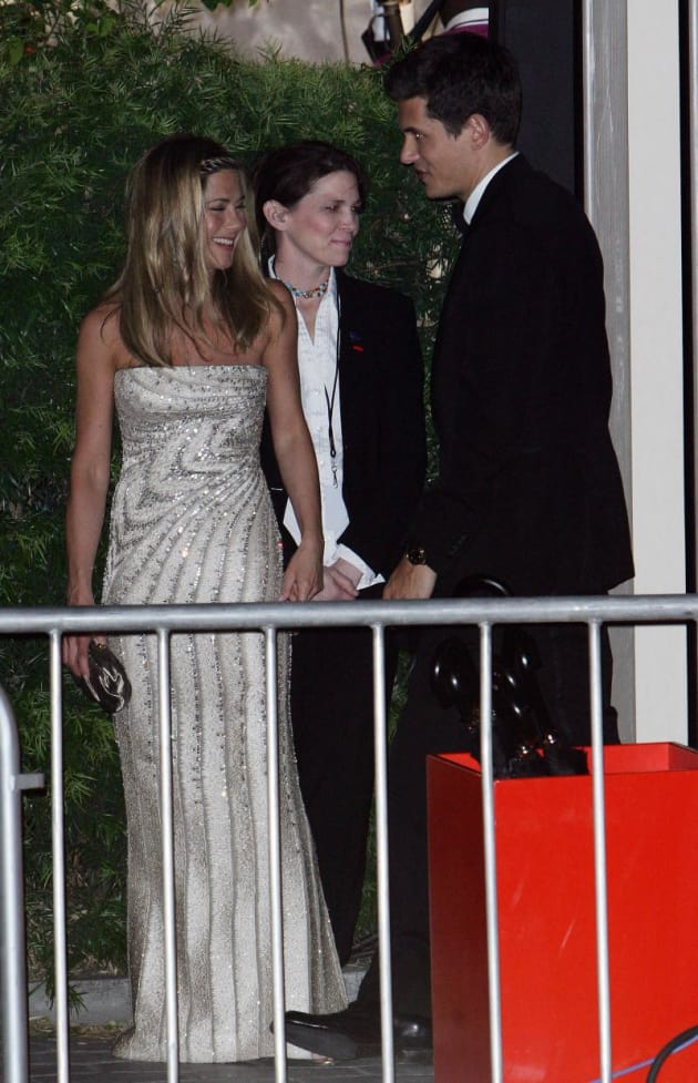 Maniston at Oscar After Party