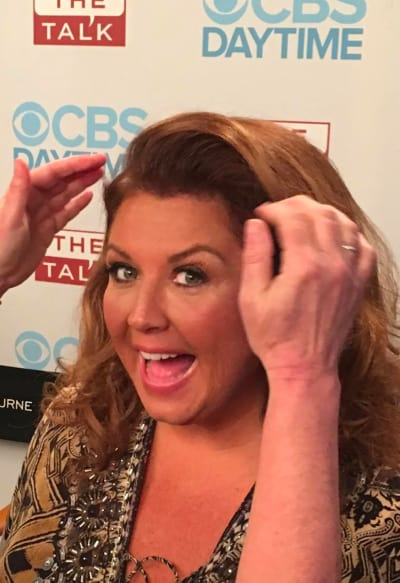 Abby Lee Miller in the Makeup Chair