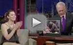 Biel Brings Letterman Up to Speed