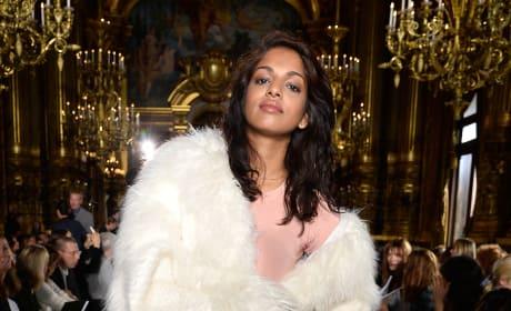M.I.A. Paris Fashion Week Pic