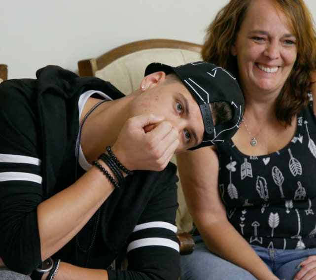 Tyler and catelynns mom