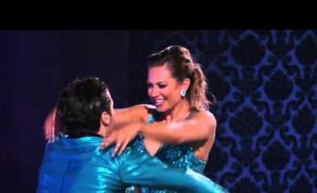Ginger Zee and Val Chmerkovskiy - DWTS Premiere