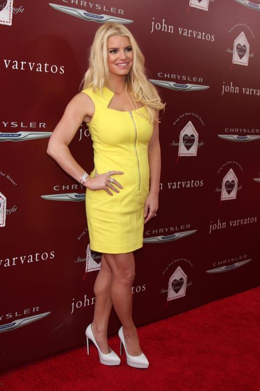Jessica Simspon Skinny Photo
