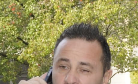 Joe Giudice on Phone