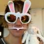 Justin Bieber Celebrates Bunnies, Easter