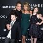 Ben Stiller, Christine Taylor and Kids