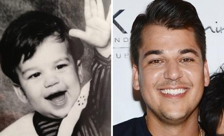 Rob Kardashian as a Kid