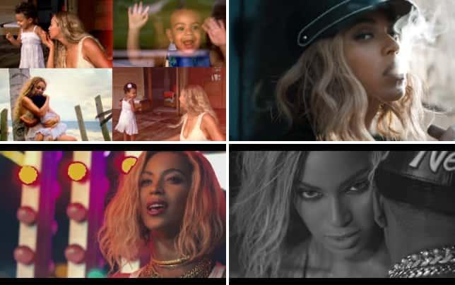 Beyonce blue music video