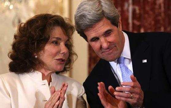 John and Teresa Heinz Kerry
