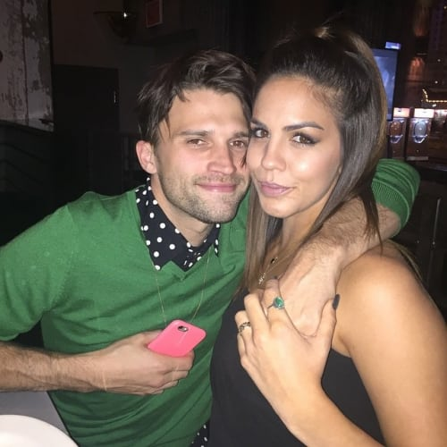Katie Maloney and Tom Schwartz Selfie