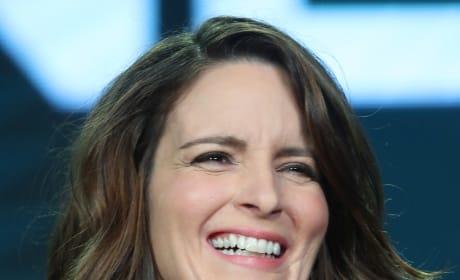 Tina Fey Laughs