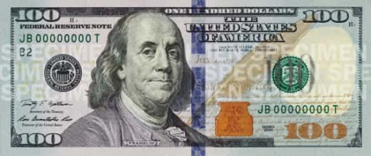 New Hundred Dollar Bill