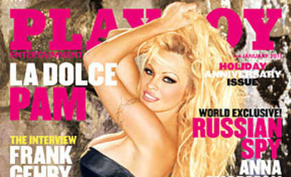 Pamela Anderson Covers Playboy... With a Poem!