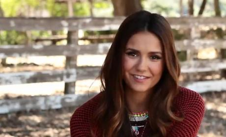 Nina Dobrev Cover Shoot: Behind the Scenes