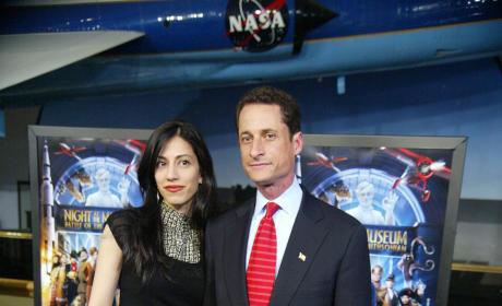 Huma Abedin and Anthony Weiner