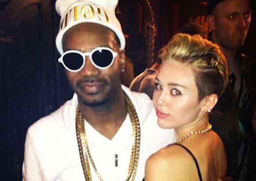 Miley Cyrus and Juicy J
