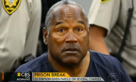 O.J. Simpson Steals Cookies From Prison