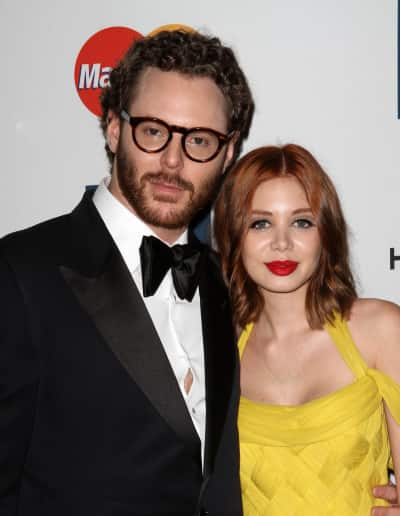 Alexandra Lenas and Sean Parker