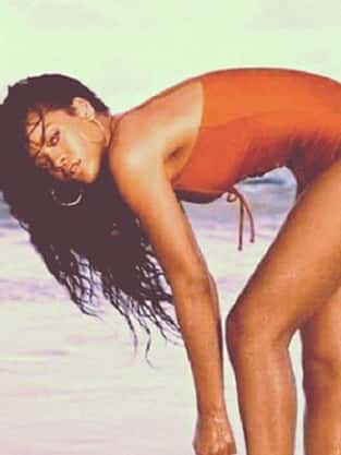 Rihanna Swimsuit Pic, Barbados Ad