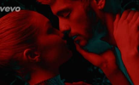 "Zayn Malik Makes Out with Gigi Hadid in ""Pillowtalk"" Video"
