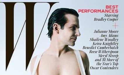 Bradley Cooper: Naked For W Magazine!