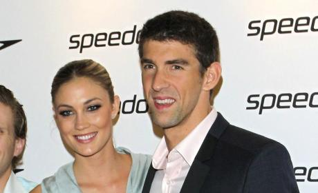 Megan Rossee, Michael Phelps Photo