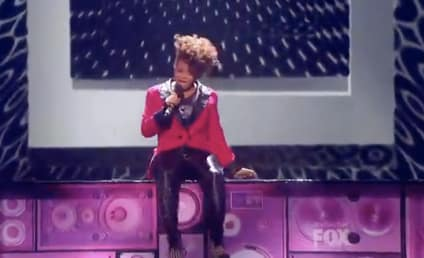 Rachel Crow: Walking on Sunshine, Compared to Michael Jackson