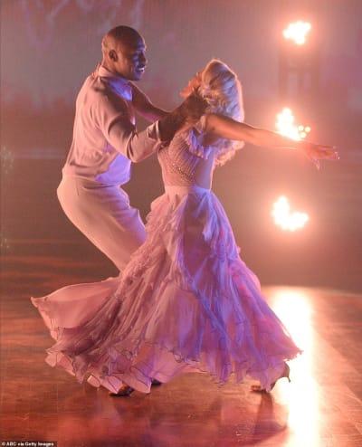 Vernon Davis and Peta Murgatroyd
