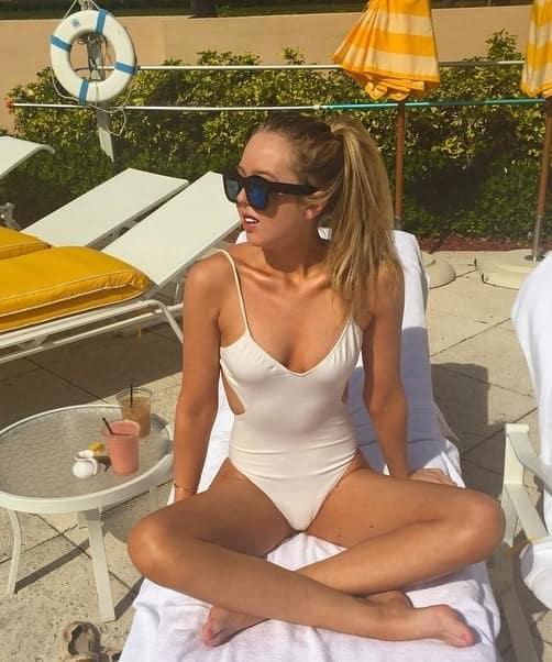 Tiffany Trump Swimsuit Pic